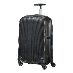 SAMSONITE Cosmolite spinner (4 kerék) 55cm fekete kabinbőrönd