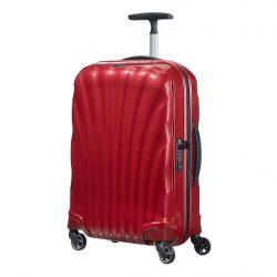 SAMSONITE Cosmolite spinner (4 kerék) 55cm piros kabinbőrönd