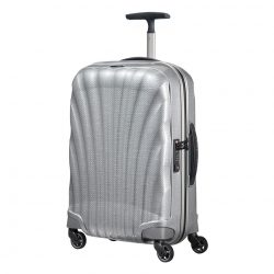 SAMSONITE Cosmolite spinner (4 kerék) 55cm ezüst kabinbőrönd