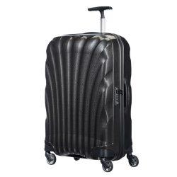 SAMSONITE Cosmolite spinner (4 kerék) 69cm fekete közepes bőrönd