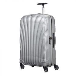 SAMSONITE Cosmolite spinner (4 kerék) 69cm ezüst közepes bőrönd