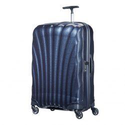 SAMSONITE Cosmolite spinner (4 kerék) 75cm kék nagy bőrönd