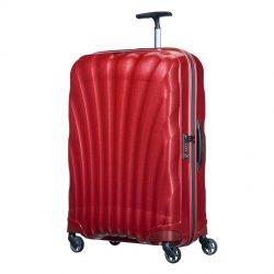 SAMSONITE Cosmolite spinner (4 kerék) 75cm piros nagy bőrönd