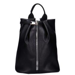CHIARA I 515 Fekete rostbőr női hátizsák