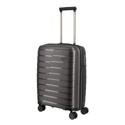 Bőrönd TRAVELITE Air Base S Antracit 4 kerekű kabin bőrönd