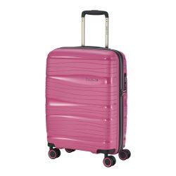 Bőrönd TRAVELITE Motion S rózsaszín 4 kerekű kabin bőrönd