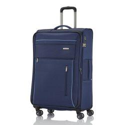 Travelite CAPRI L kék 4 kerekű bővíthető nagy bőrönd