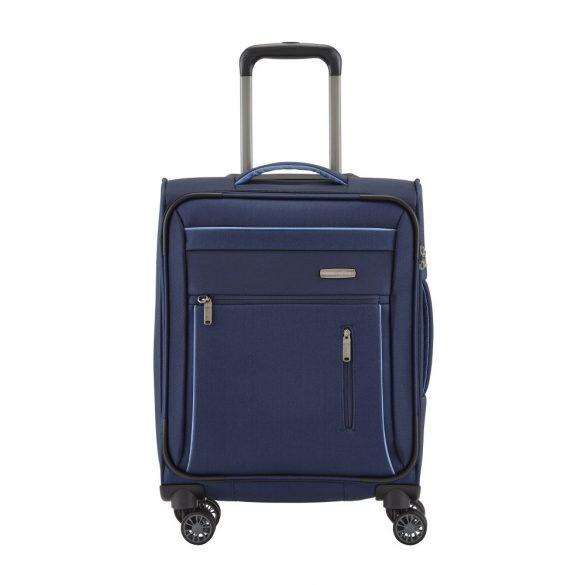 Travelite CAPRI S kék 4 kerekű kis kabin bőrönd