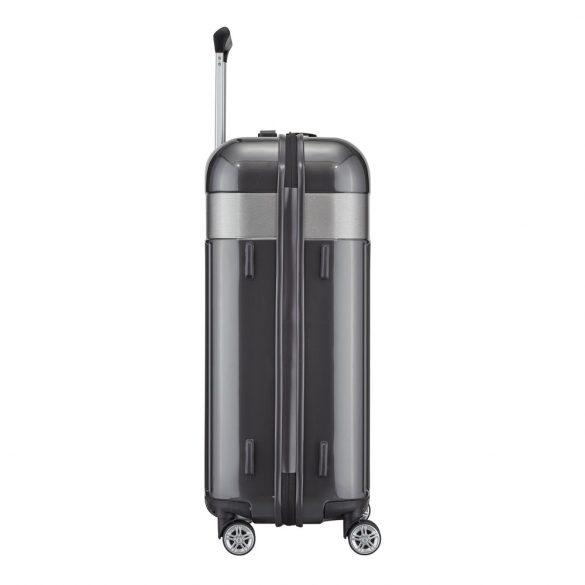 Bőrönd TITAN Spotlight Flash M antracit 4 kerekű közepes bőrönd