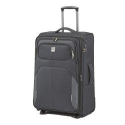 Bőrönd TITAN Nonstop M antracit 2 kerekű bővíthető közepes bőrönd