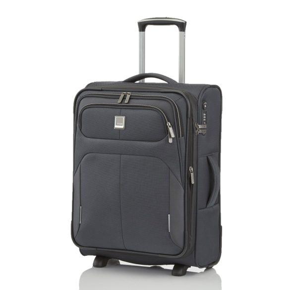Bőrönd TITAN Nonstop S antracit 2 kerekű bővíthető kabin bőrönd