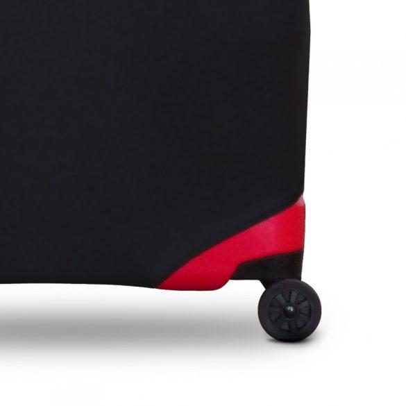 Bőrönd huzat TITAN közepes méretű bőröndre fekete