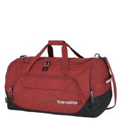 Utazótáska TRAVELITE Kick Off L piros nagy sporttáska