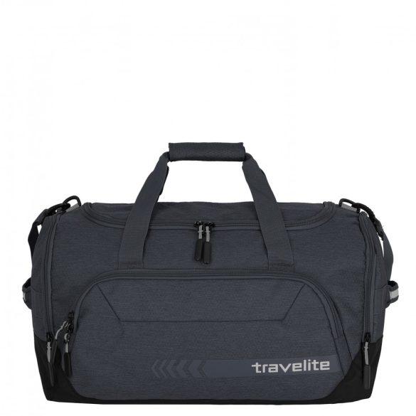 Utazótáska TRAVELITE Kick Off M antracit közepes edzőtáska