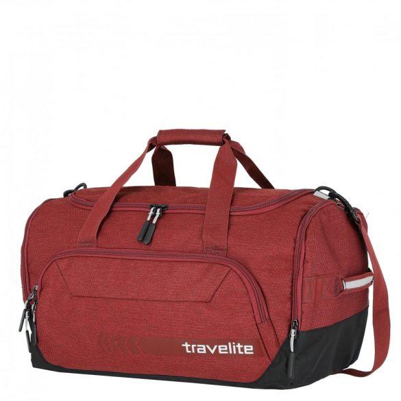 Utazótáska TRAVELITE Kick Off M piros közepes edzőtáska