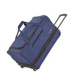 Gurulós utazótáska TRAVELITE Basics S kék bővíthető