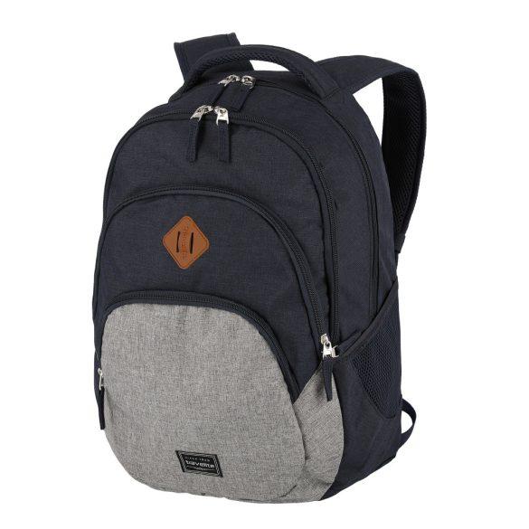 """Hátizsák TRAVELITE Basics Melange kék laptoptartós 15,6"""""""
