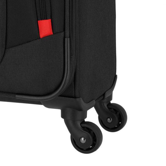 Pilóta Táska TRAVELITE @Work fekete 4 kerekű kabin méret