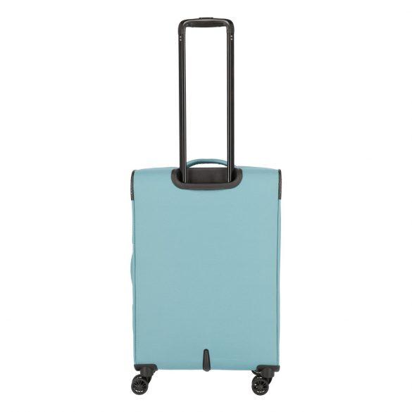 Bőrönd TRAVELITE Arona M aqua 4 kerekű bővíthető közepes bőrönd