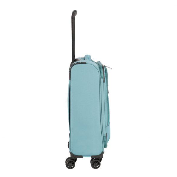 Bőrönd TRAVELITE Arona S aqua 4 kerekű kabin bőrönd
