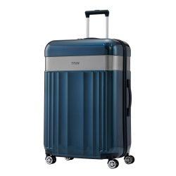 Bőrönd TITAN Spotlight Flash L north sea 4 kerekű nagy bőrönd
