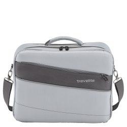 """Kabintáska TRAVELITE Kite ezüst kézipoggyász méretű laptoptartós 15,6"""""""