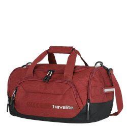 Utazótáska TRAVELITE Kick Off S piros kicsi sporttáska