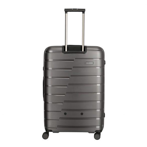 Bőrönd TRAVELITE Air Base L Antracit 4 kerekű nagy bőrönd