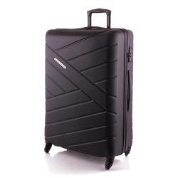 Bőrönd TRAVELITE Bliss L fekete 4 kerekű nagy méret