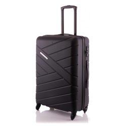 Bőrönd TRAVELITE Bliss M fekete 4 kerekű közepes méret