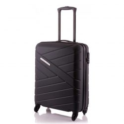 Bőrönd TRAVELITE Bliss S fekete 4 kerekű kabin méret