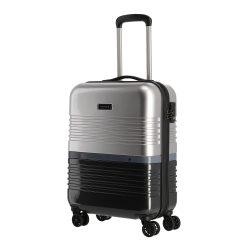 TRAVELITE Frisco S fekete-ezüst 4 kerekű kabinbőrönd