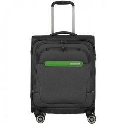 Bőrönd TRAVELITE Madeira S antracit 4 kerekű kabin méret