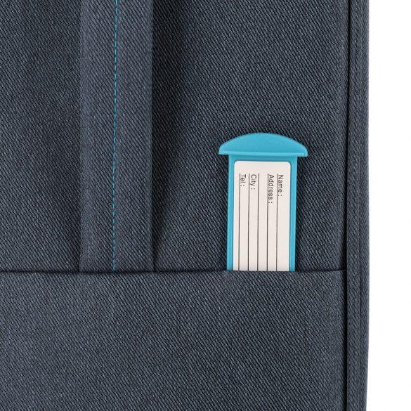Bőrönd TRAVELITE Madeira S kék 4 kerekű kabin méret