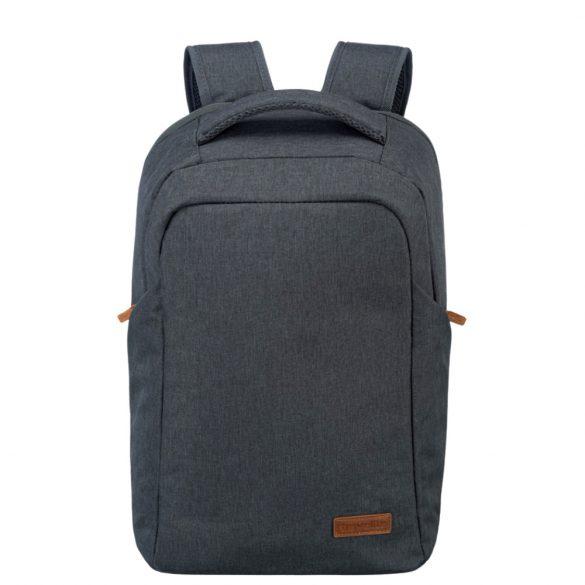 """Hátizsák TRAVELITE Basics Safety antracit laptoptartós 15,6"""""""