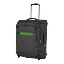 Bőrönd TRAVELITE Madeira S antracit 2 kerekű bővíthető kabin méret