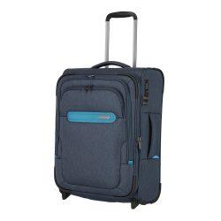 Bőrönd TRAVELITE Madeira S kék 2 kerekű bővíthető kabin méret