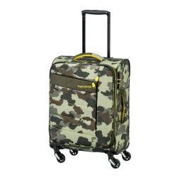 Bőrönd TRAVELITE Kite S terepmintás 4 kerekű kabin bőrönd