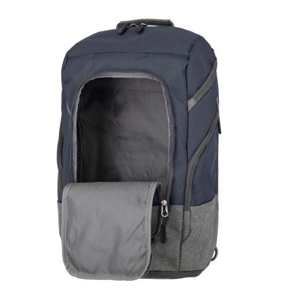 Hátizsák TRAVELITE Basics kék nagy utazótáskává alakítható túrazsák