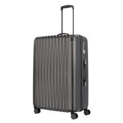 TITAN Barbara Glint L antracit 4 kerekű nagy bőrönd