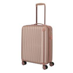 TITAN Barbara Glint S rose gold 4 kerekű kabin bőrönd