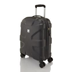Bőrönd TITAN X2 S fekete 4 kerekű kabin méret