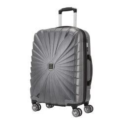 Bőrönd TITAN Triport M antracit 4 kerekű közepes méret
