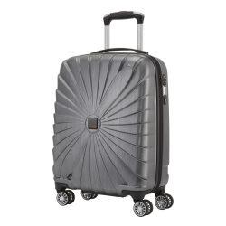 Bőrönd TITAN Triport S antracit 4 kerekű kabin méret