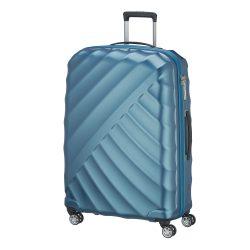 Bőrönd TITAN Shooting Star L petrol 4 kerekű nagy bőrönd