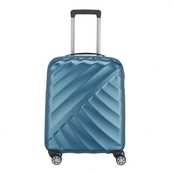 Bőrönd TITAN Shooting Star S petrol 4 kerekű kabin bőrönd