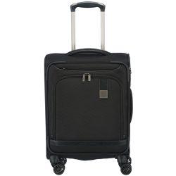 Bőrönd TITAN Ceo S fekete 4 kerekű kabin méret