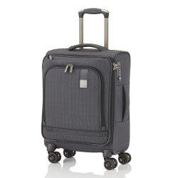 Bőrönd TITAN Ceo S antracit 4 kerekű kabin méret