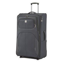 Bőrönd TITAN Nonstop L antracit 2 kerekű bővíthető nagy méret