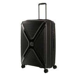 Bőrönd TITAN Paradoxx L fekete uni 4 kerekű nagy méret